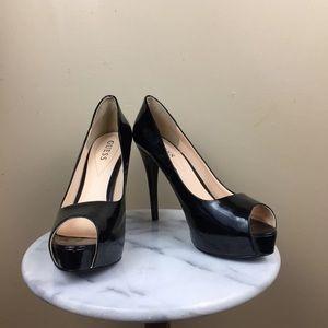 Guess Black Heels (9 1/2 )